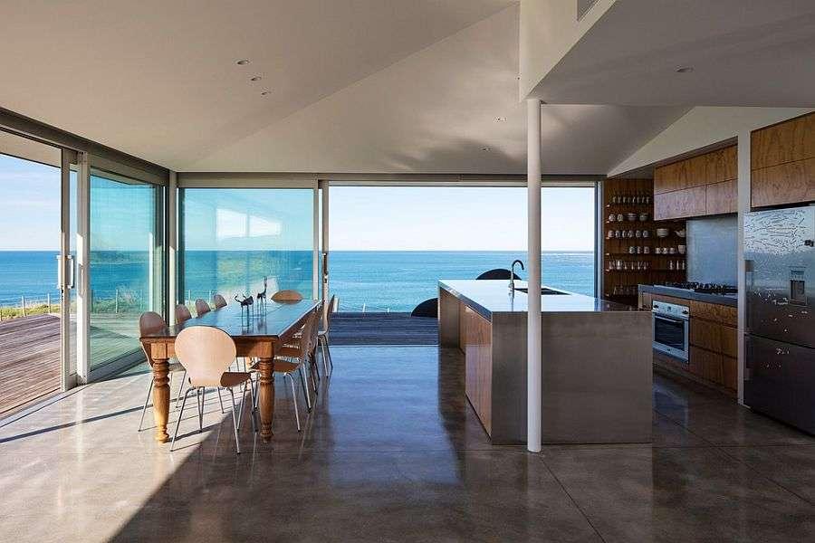 Kuchnia nad Atlantykiem – wspaniały widok na ocean