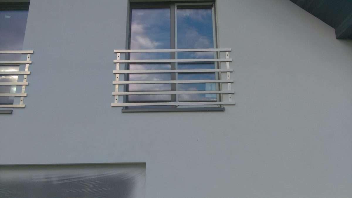 Balkon z widokiem na barok
