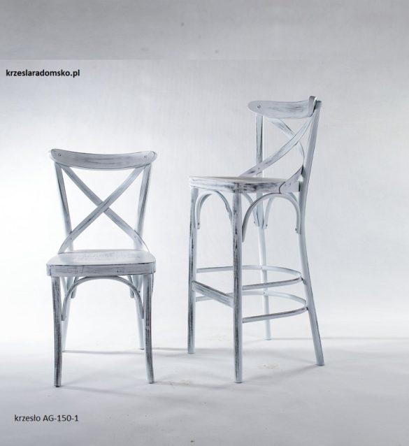 Krzesło i hoker model 150 typu crossback