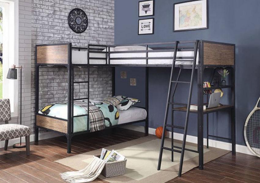 Łóżka piętrowe trzyosobowe – dla przestrzeni i wygody