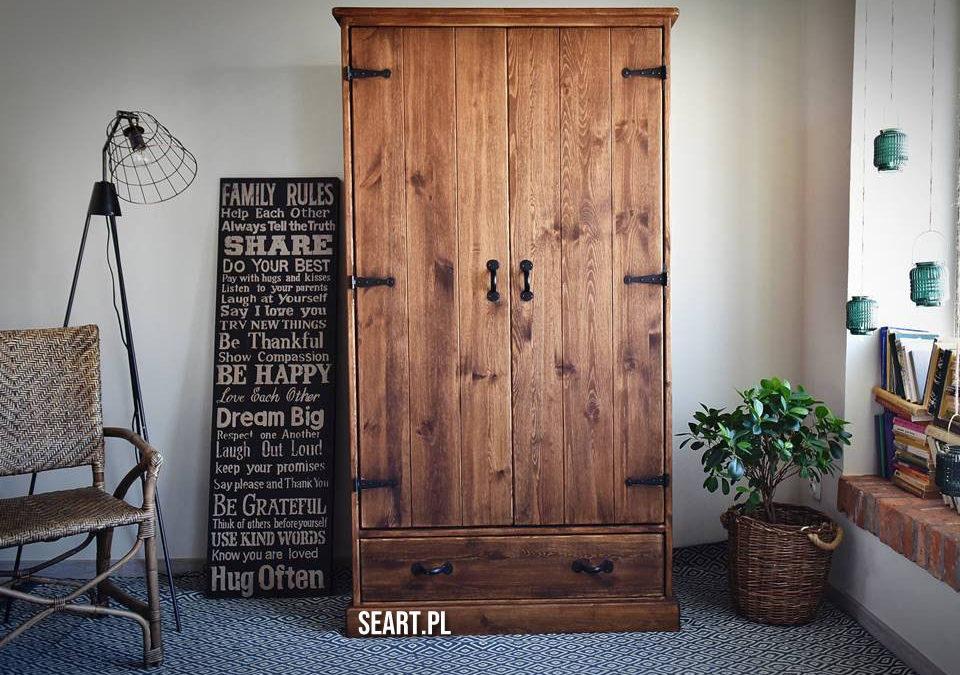 Szafy drewniane – czy warto postawić na jakość?