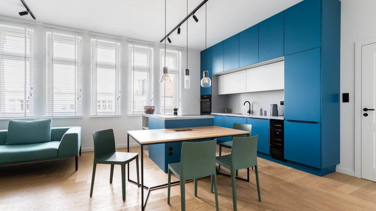 Kuchnia połączona z jadalnią – styl loft w Twoim domu