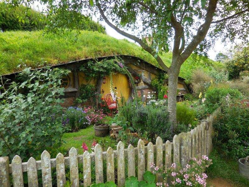 ziemianka w stylu hobbita