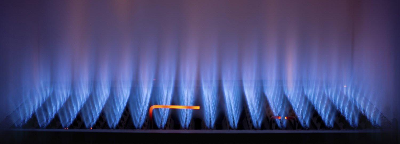 gaz w piecu gazowym