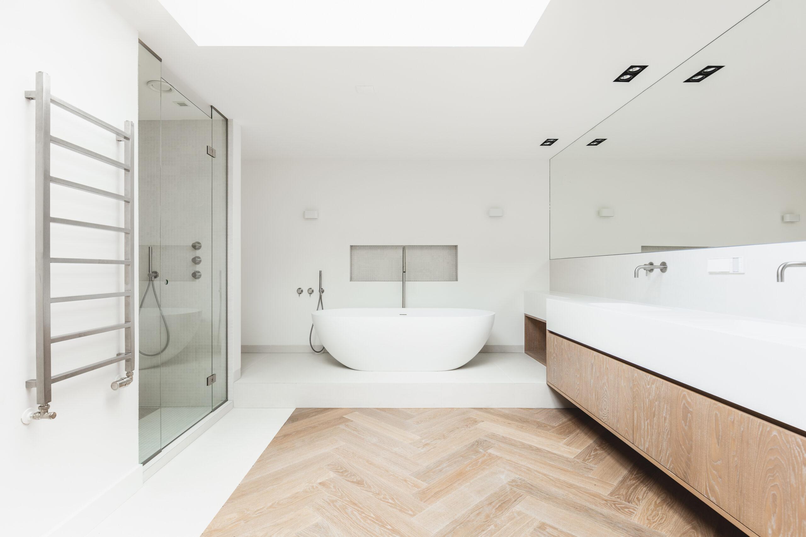 łazienka styl skandynawski