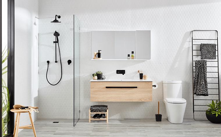 styl skandynawski łazienka