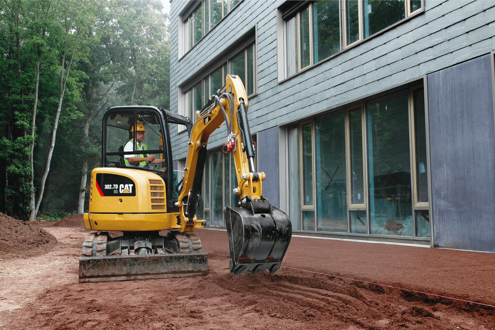 typowe awarie maszyn budowlanych