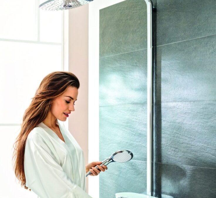 Nowoczesny zestaw prysznicowy Euphoria SmartControl – jakie funkcje?