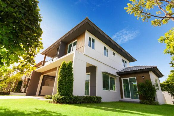 Dom z systemem ociepleń ETICS